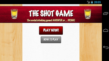 Screenshot of The shot game