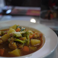 Low-Sodium V8 Minestrone