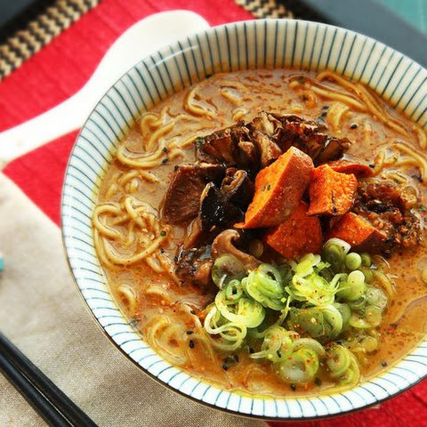 youtube miso recipe ramen Ramen Broth Vegan Rich and Miso Vegetables Creamy and Roasted With
