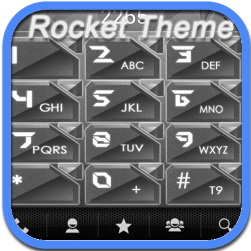 RocketDial Metal Theme LOGO-APP點子