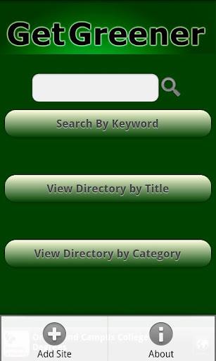 Go Green Eco-Directory
