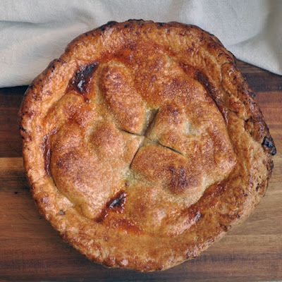 Pear Pie with Maple and Ginger