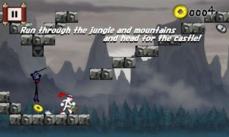 Screenshot of Run Ninja Run