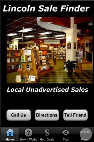 Lincoln Sale Finder