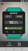 Screenshot of SmartWatch 2 SW2
