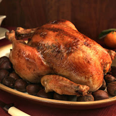 Roasted Capon with Citrus-Sherry Jus