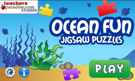 子供のための海のジグソーパズル