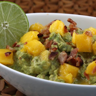 Sweet Smokin' Hot, Mango- Chipotle Guacamole