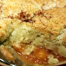 Southern Bourbon Fresh Peach Cobbler