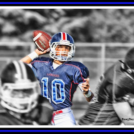 The Quarterback by Joe Richter - Sports & Fitness Other Sports
