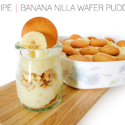 RECIPE | Banana Nilla Wafer Pudding