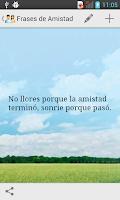 Screenshot of Frases de Amistad