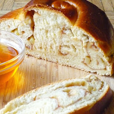 Apple Butter Challah