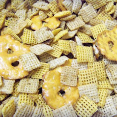 Great Grandma Pady's Traditional Chex Party Mix