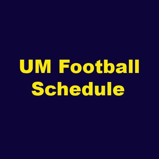 Michigan Football Schedule