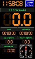 Screenshot of Bicycle Dashboard - Speedmeter