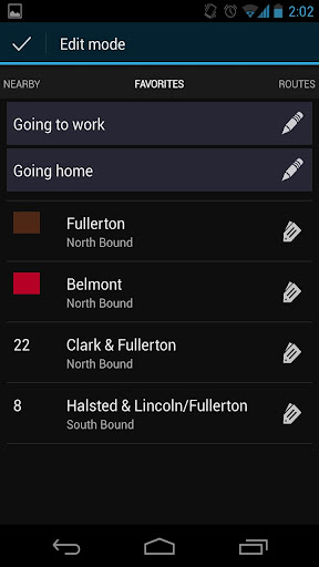 transit-tracks-chicago for android screenshot