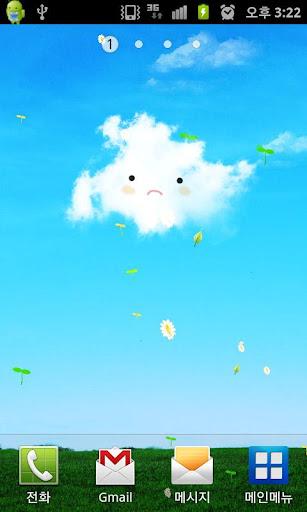 Blue sky clouds dudungsil...