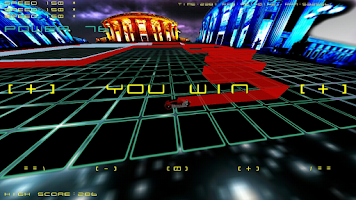 Screenshot of Tron HD 3D LightBike