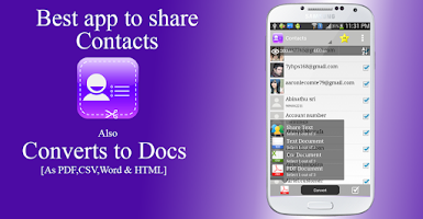 Screenshot of Contacts to Text Pro