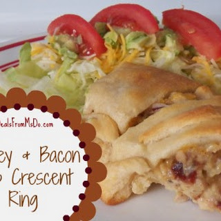 Turkey and Bacon Club Crescent Ring