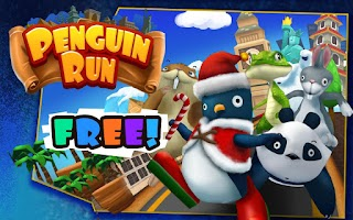 Screenshot of Penguin Run