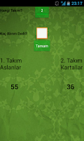 Screenshot of Batak Yaz-Boz - Skor Tabela