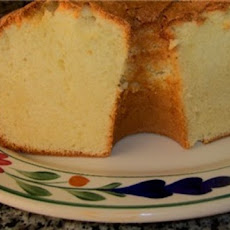 Crusty Top, Sour Cream Pound Cake