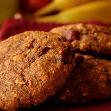 Pumpkin Cranberry Breakfast Cookie