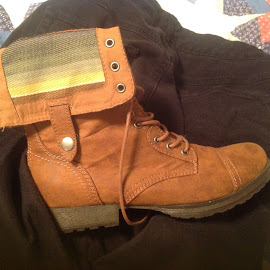 Hikers boots by Terry Linton - Artistic Objects Clothing & Accessories (  )