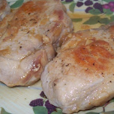 Pork Chops With Cider Sauce