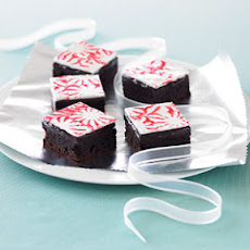 Peppermint-topped Brownies