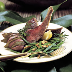 Rack of Lamb with Fresh Herbs and Garlic