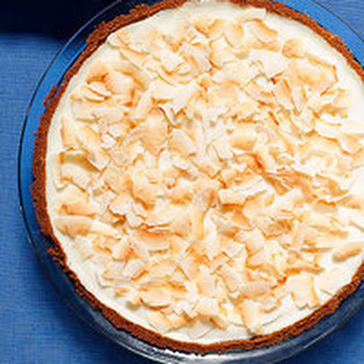 Coconut Cheesecake Pie