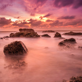 another world by Dedy Triyana - Landscapes Sunsets & Sunrises ( waterscape, indonesia, sunset, beach, light )