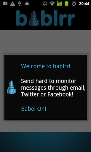 Bablrr Free Message Encoder