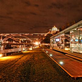 Porto and Gaia by Antonio Amen - City,  Street & Park  Vistas