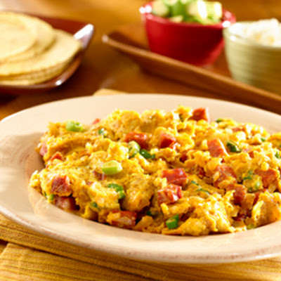 Spicy Smokin' Scramble