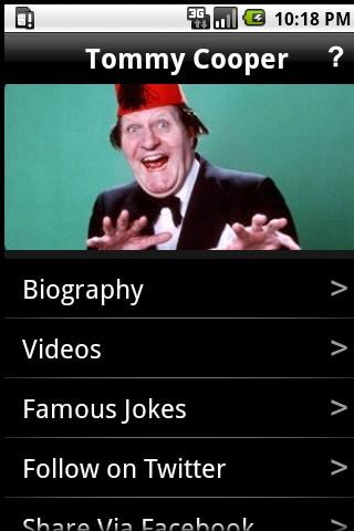 Tommy Cooper - Jokes and more