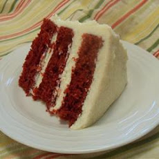 Mom's Signature Red Velvet Cake