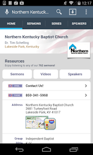Northern Kentucky Baptist - screenshot