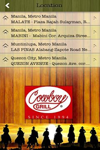 Cowboy Grill Philippines - screenshot