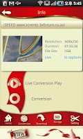 Screenshot of MyView - player & server