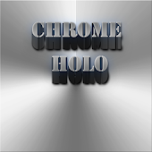 Download Android App CHROME HOLO ICONS for Samsung
