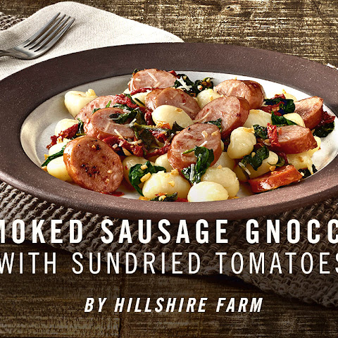 Hillshire Farm® Smoked Sausage Gnocchi with Sun-Dried Tomatoes