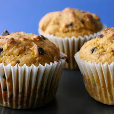 Chocolate Chip Pumpkin Muffins