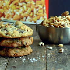 Dark Chocolate-Sea Salt Kashi Cereal Cookies