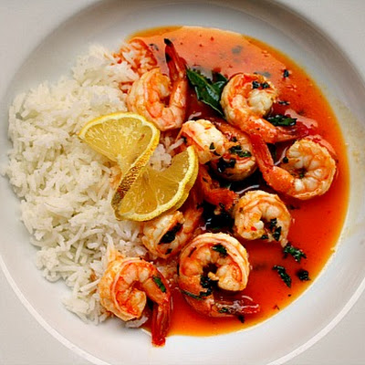 Thai Shrimp, Made with Powdered Coconut Milk