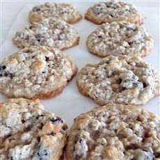 Raisin Oatmeal Cookies