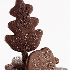 Chocolate Ginger Leaves and Acorns